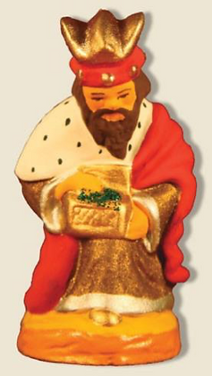 Roi mage à genoux Balthazar