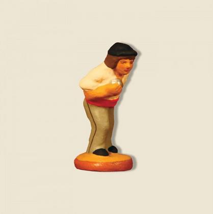 """Joueur de boules- Le tireur-pointeur """"Baptistin""""-4cm"""