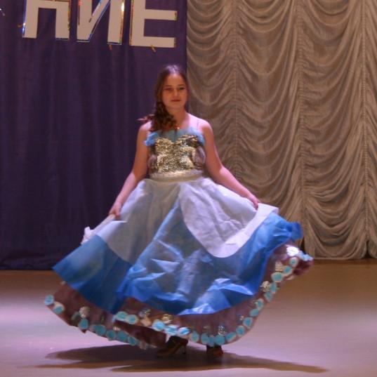 1. Козлова Дарья, 13 лет