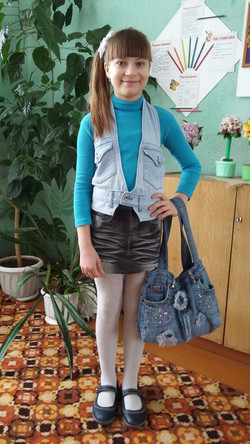 3. Блинова Юлия Олеговна, 10 лет.