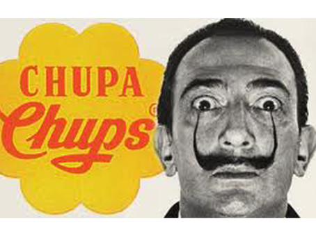 Dalí y Chupa Chups