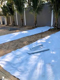 Geotextile & Soil Preparation