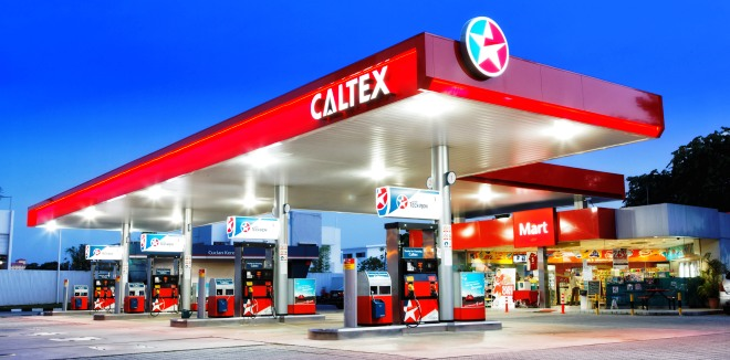 Caltex Gas Station