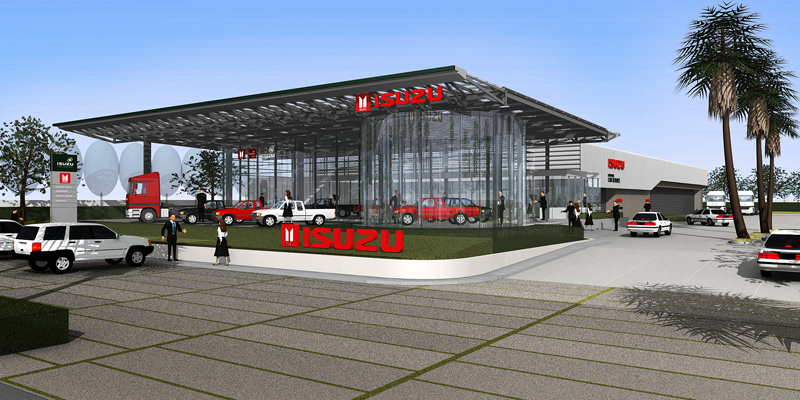 Isuzu Showroom