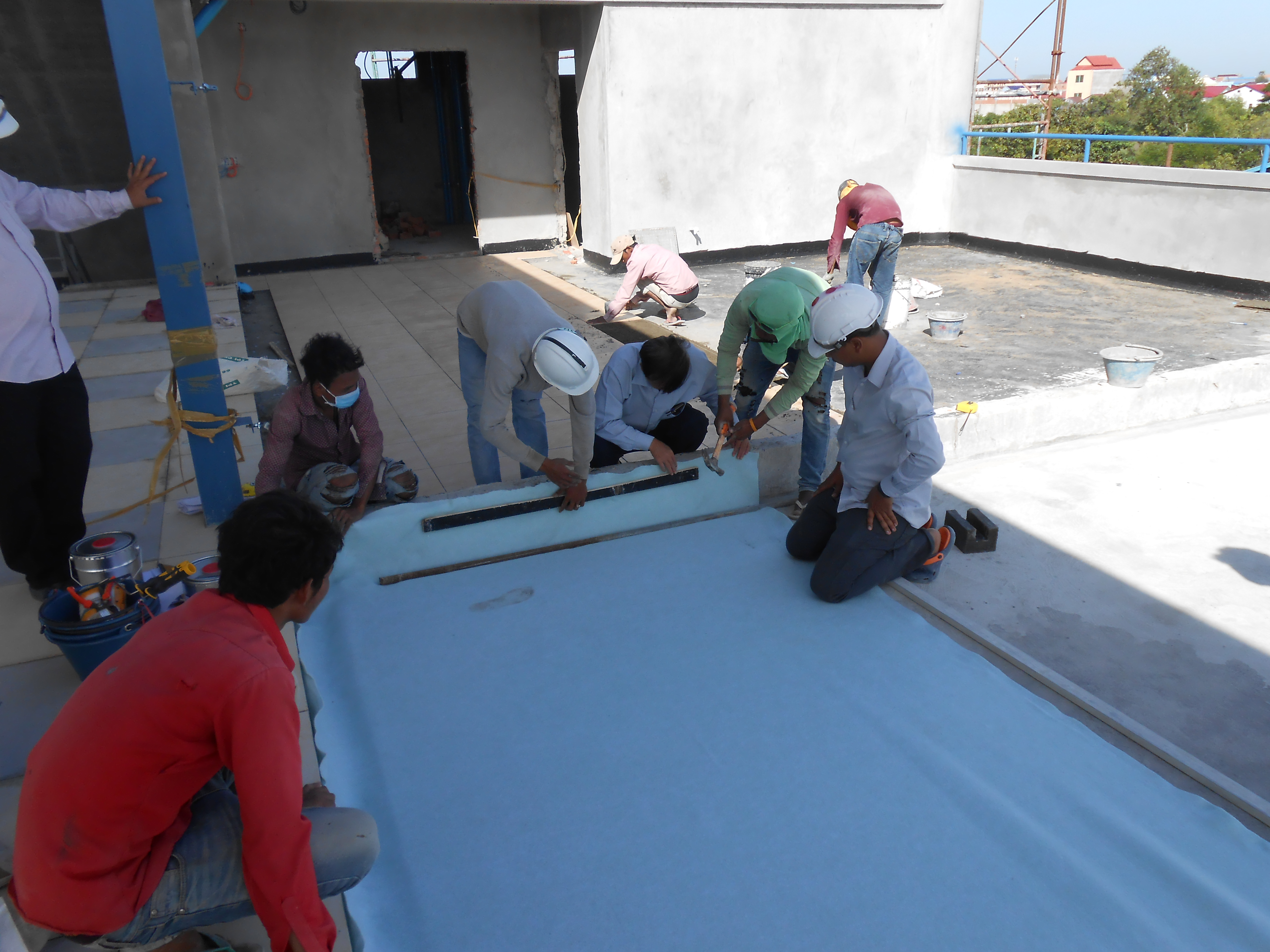 PPM Pharma Roof Work