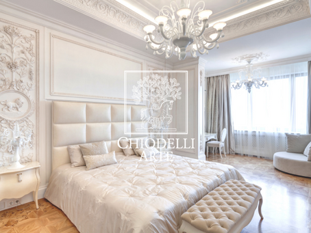 Pure white, a luxurious style for a prestigious bedroom - Read our latest newsletter