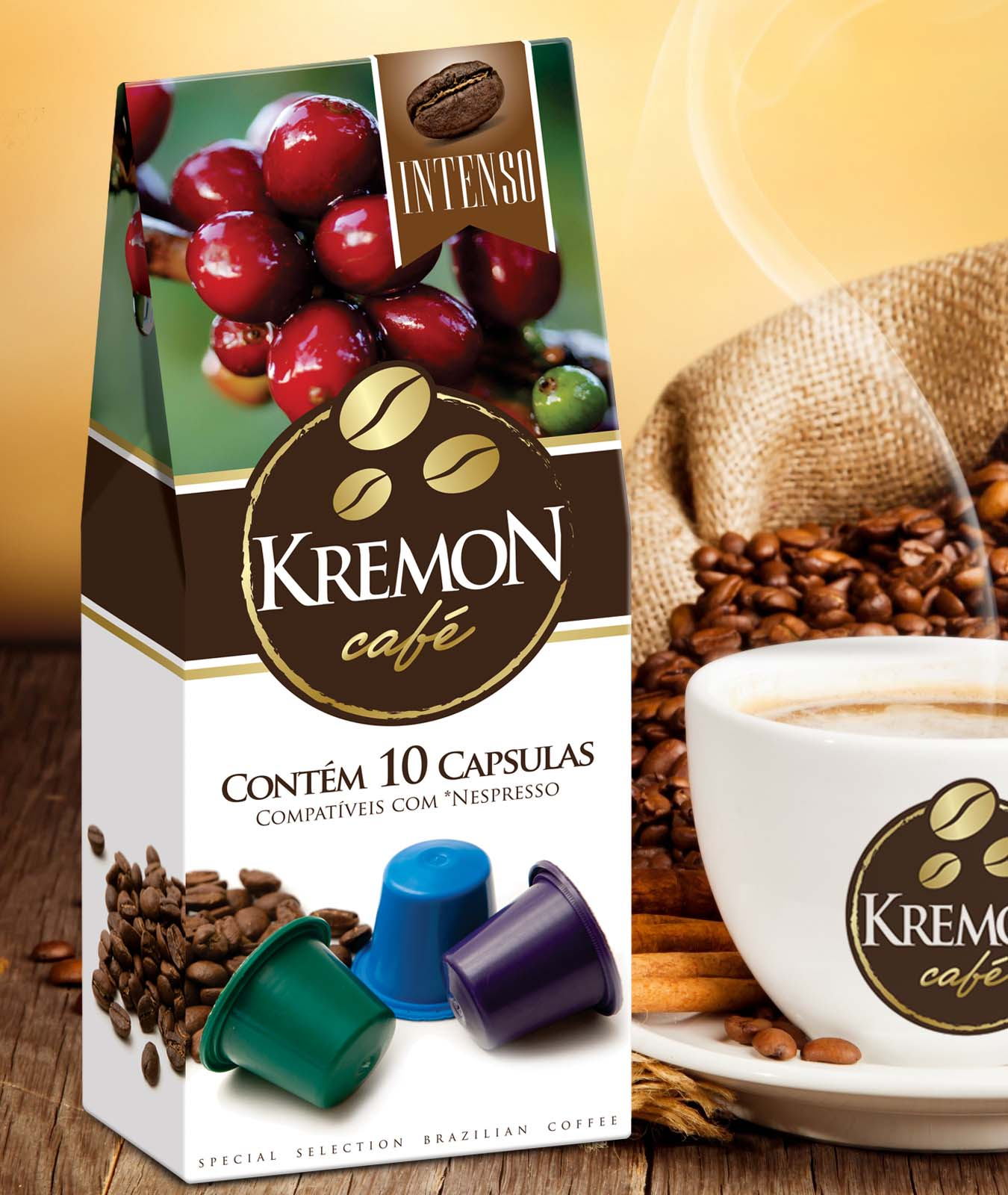 Brazilian Coffee Capsules