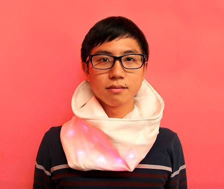 Spark functional prototype unisex, multipurpose scarf