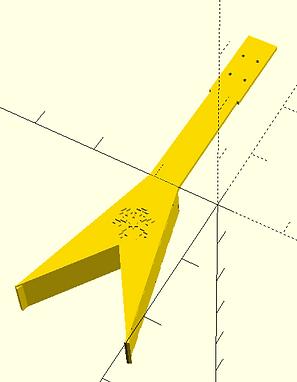 Ukulele CAD representation