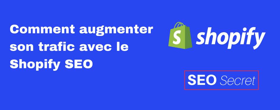 Comment augmenter son trafic avec le Shopify SEO ?