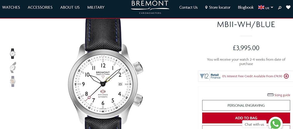 Bremont : exemple de description 1