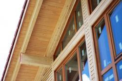 Деревянные окна с 3-х кратным остекл