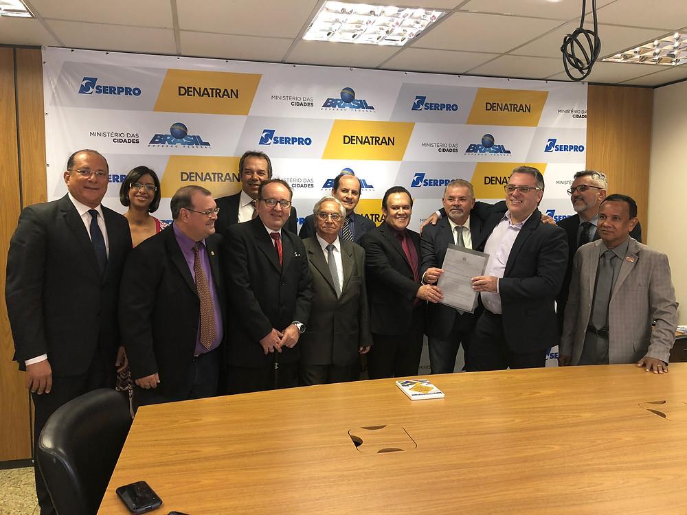 Reunião DENATRAN Entrega Resultado Grupo de Trabalho  -17/07/2018