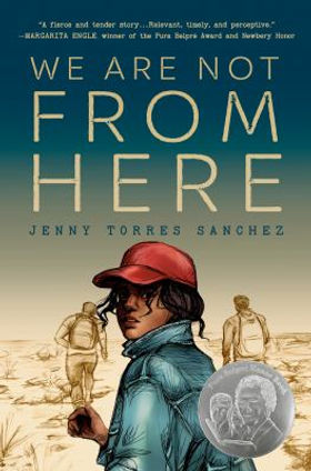 We Are Not From Here (Cover Image) by Jenny Torres Sanchez