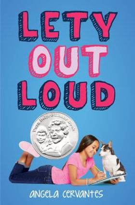 Book cover image: Lety out loud by Angela Cervantes