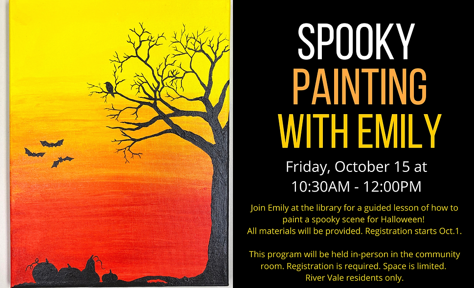 image of spooky tree painting
