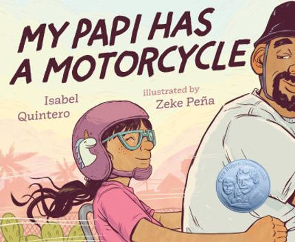 Book cover image: My papi has a motorcycle / Isabel Quintero