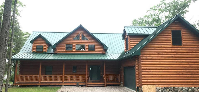 Residential Standing Seam Roof