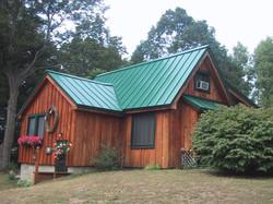 Husky Metal Roofs - Standing Seam Green