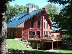 Husky Metal Roofs - Green Steel Shingle