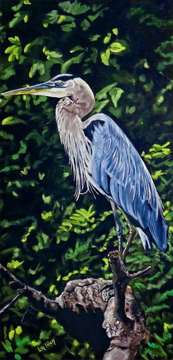 The Majestic Fisherman - SOLD