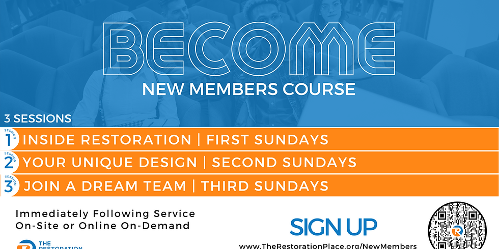 BECOME New Members' Course