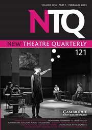 Paper; Japanese Theatre after Fukushima: Okada Toshiki's Current Location, by Kyoko Iwaki