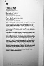 64_Fiona Hall_b.1953, Australia_Curve Ball(2013)_Take No Prisoners(2013)