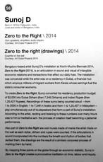 58_Sunoj D_b.1979, India_Zero to the Right(2014)