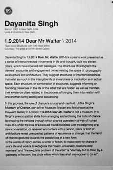 69_Dayanita Singh_b.1961, India_1.9.2014 Dear Mr Walter(2014)