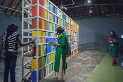 42_Navjot Altaf_b.1949, India_Mary Wants to Read a Book(2014)