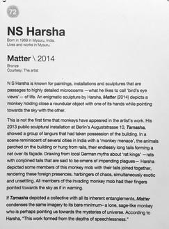72_NS Harsha_b.1969, India_Matter (2014)