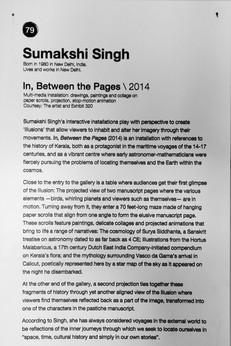 79_Sumakshi Singh_b.1980, India_In, Between the Pages(2014)