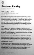 50_Prashant Pandey_b.1984, India_Artha(2014)