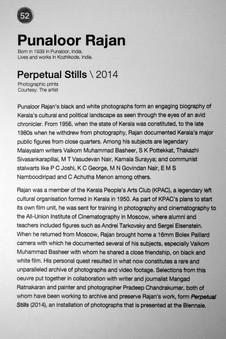 52_Punaloor Rajan_b.1939, India_Perpetual Stills(2014)