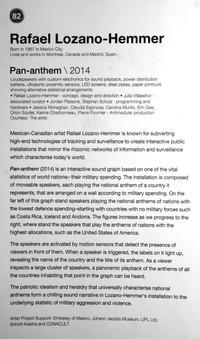 82_Rafael Lozano-Hemmer_b.1967, Mexico City_Pan-anthem(2014)
