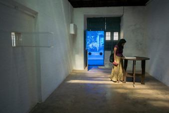"""84_Raqs Media Collective, India, """"Log Book Entry Before Storm"""" 2014)"""