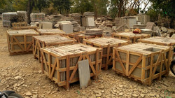 packing of sandstone