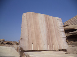 Camel dust sandstone block.