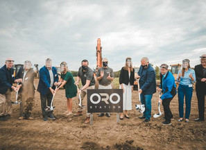 GROUNDBREAKING CEREMONY KICKS OFF CONSTRUCTION OF AUTOMOTIVE INNOVATION PARK ORO STATION