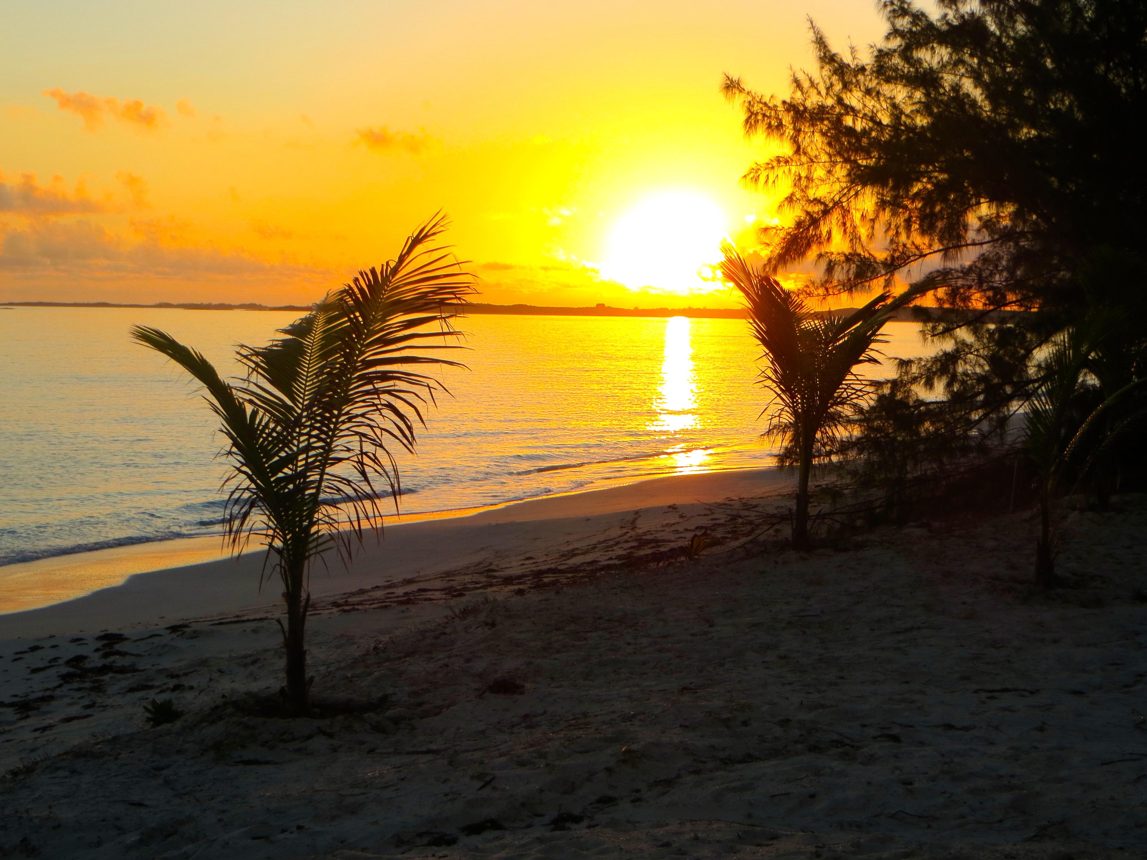 Sunrise and sandy toes Exuma