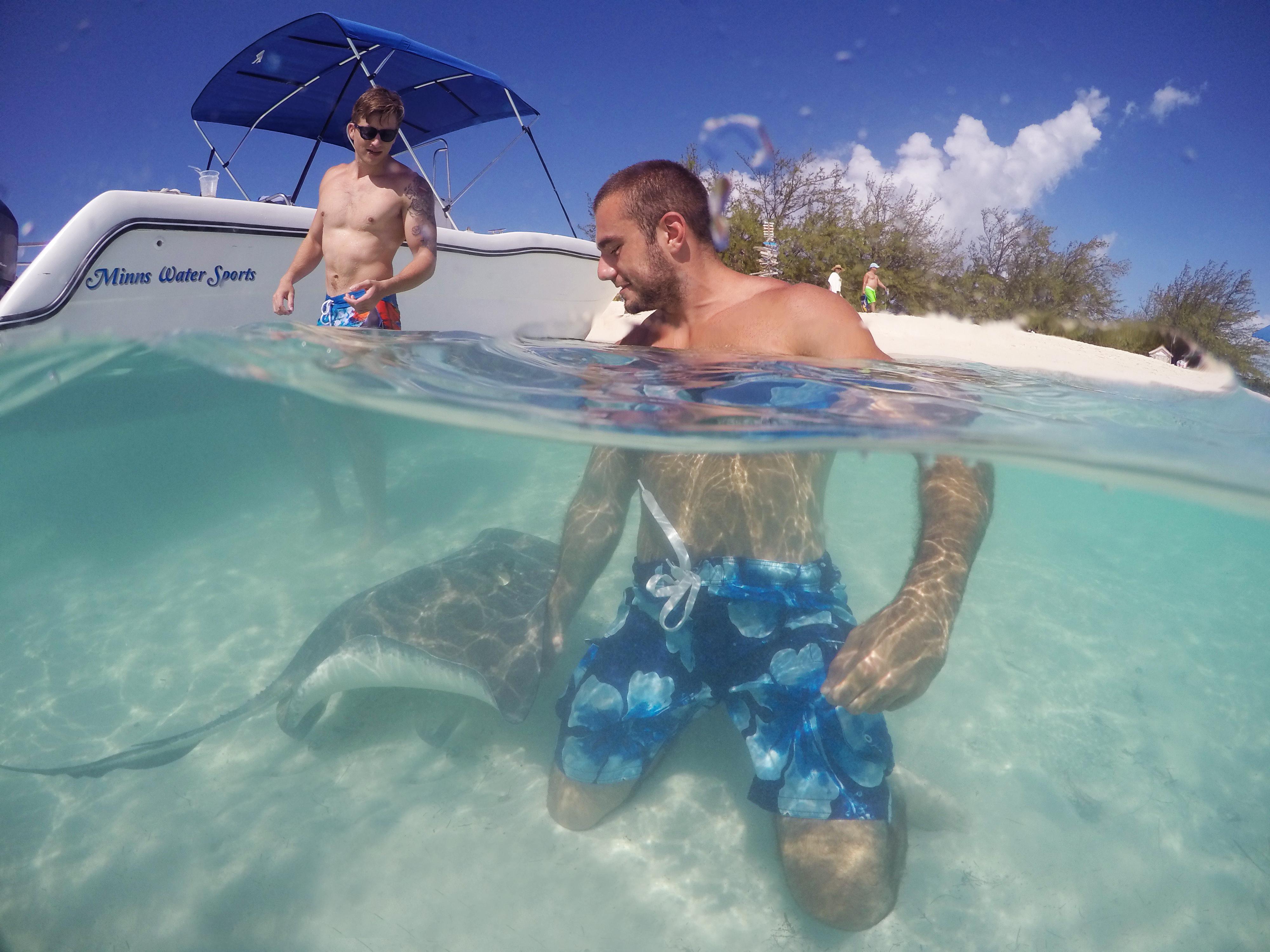 Stingray Exuma Bahamas