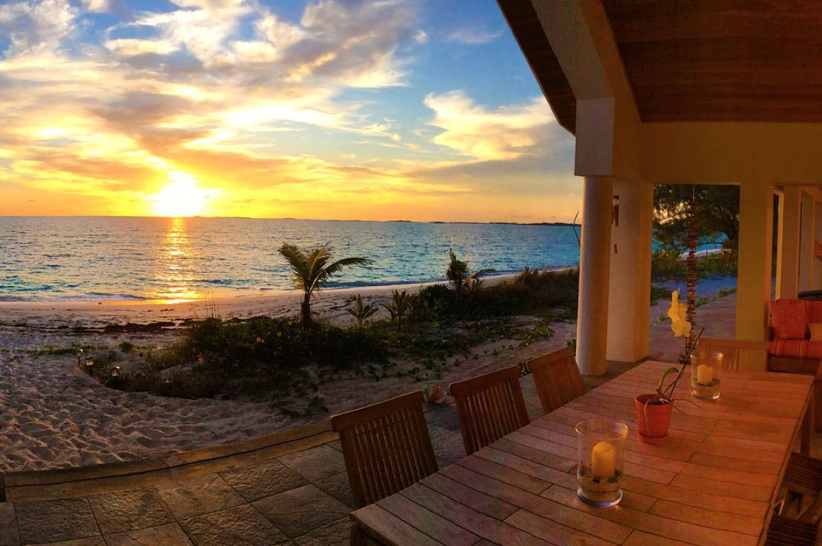 Sunrise Beachfront Home Rental Exuma
