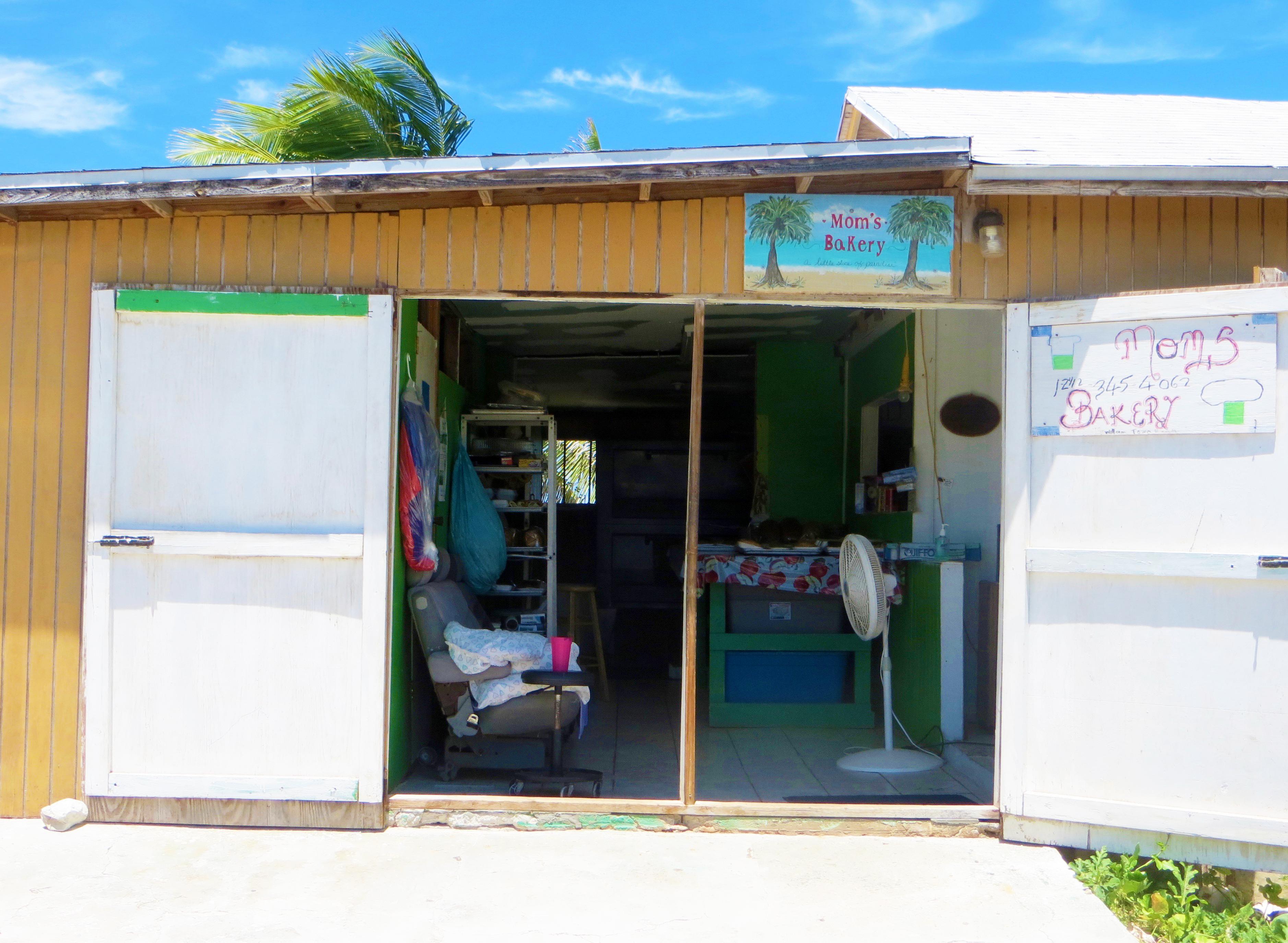 Moms Bakery Exuma Bahamas