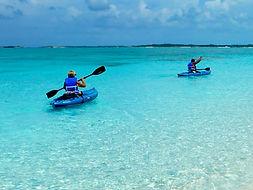 Beachfront Rental Home Exuma Bahamas Kayak