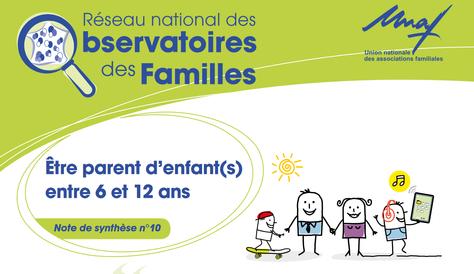 [PDF] Observatoire des familles : Une étude sur les besoins des parents d'enfants de 6 à 12 ans