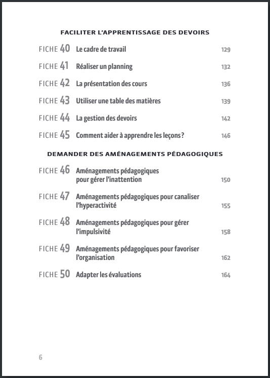 Sommaire p6