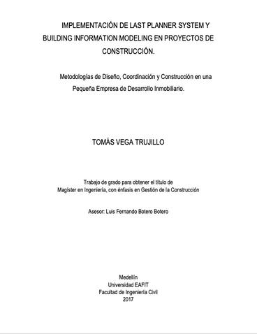 Métodologías de Diseño Coordinación y Contrucción