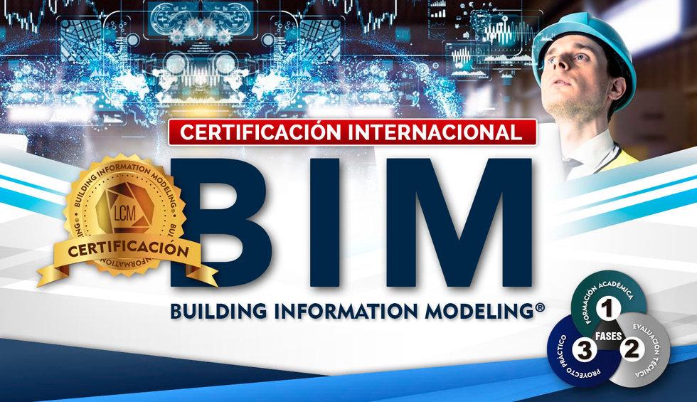 CERTIFICACION INTERNACIONAL BIM 1440x830