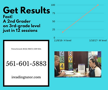 reading tutoring results